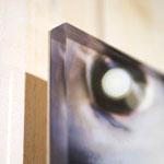 Tirage sous verre acrylic